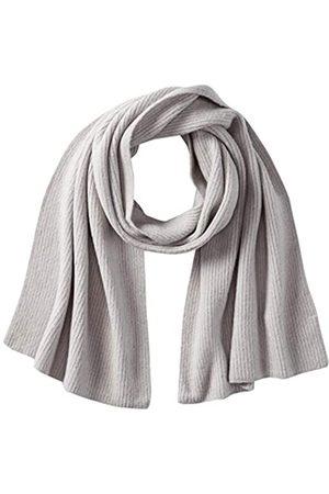 TOM TAILOR Damen Ripp Schal, 11282-Silver Grey Melange