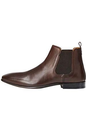 FIND Albany Herren, Chelsea Boots, Braun (Brown Brown)