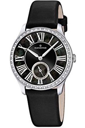 Candino Damen Analog Quarz Uhr mit Leder Armband C4596/3