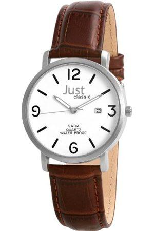 Just Watches Just Herren-Armbanduhr Quartz 48-S9226WH-BR
