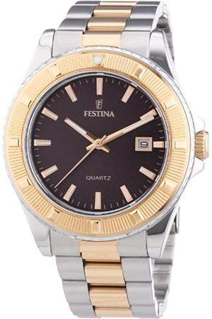 Festina Unisex-Armbanduhr Trend Analog Quarz Edelstahl beschichtet F16685/4
