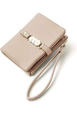 AOXONEL Damen-Geldbörsen, klein, RFID-Armband, Portemonnaie für Karten, Münzen