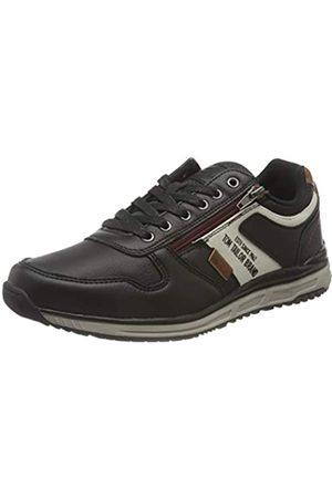 TOM TAILOR Herren 1182702 Sneaker, Black