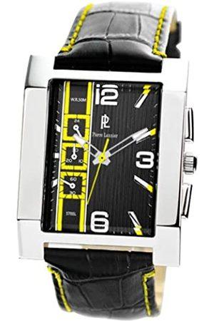 Pierre Lannier 253B173 – Armbanduhr – Quarz Analog – Zifferblatt Armband Leder