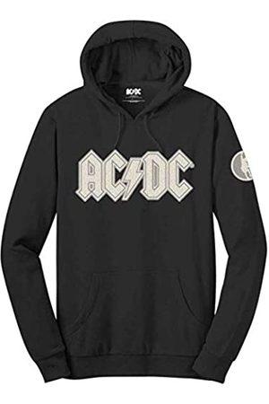 AC/DC Felpa # L Unisex Black # Logo & Angus