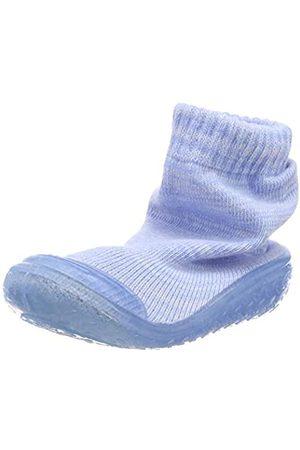 Playshoes Jungen Unisex Kinder Socke gestrickt Hohe Hausschuhe, (Bleu 17)