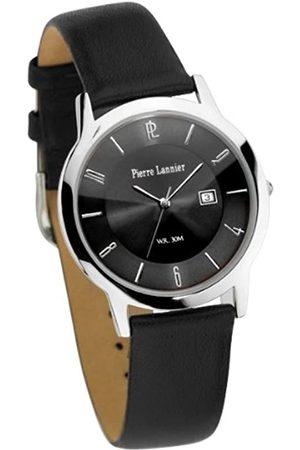 Pierre Lannier 256D133 Herren-Armbanduhr, Quarz, analog, schwarzes Zifferblatt