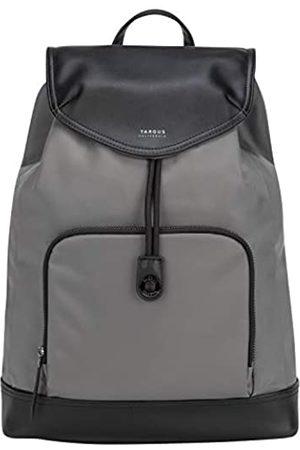 Targus Newport Rucksack mit Kordelverschluss 17 L, Notebook Rucksack bis 15 Zoll mit Spezialfach, wasserdichter Tagesrucksack mit Reißverschlusstaschen –