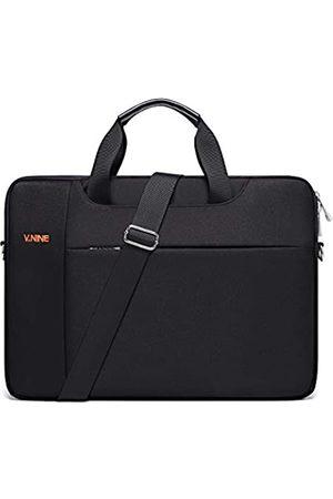 V.NINE Laptop-Umhängetasche für Damen und Herren, 15,6 Zoll (39,6 cm) Computer und Tablet, Schultertasche, Business, Reise, Aktentasche