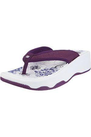 Skechers Tone-ups Short Shorts 38766 PUR, Damen Clogs & Pantoletten, (PUR)