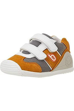 Biomecanics Baby Jungen 212153-A Sneaker, Mostaza Y Blanco (Serraje Y Sauvage)