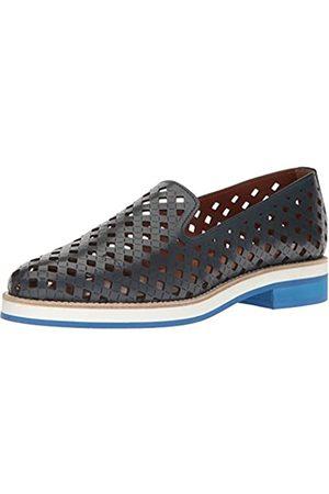 Aquatalia Women's Zanna Perforated Calf Slip-on Loafer