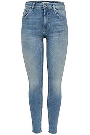 ONLY Female Skinny Fit Jeans ONLBlush mid Ankle M32Light Blue Denim