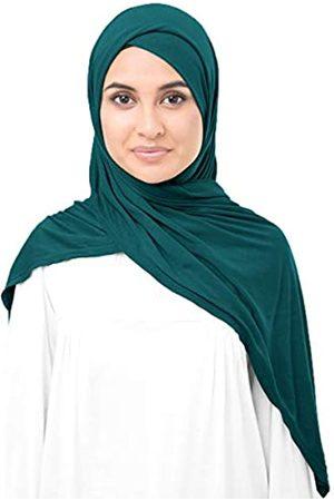 Silk Route InEssence© New Viskose Lycra Jersey Schal Damen Wrap Maxi Hijab Gr. 85