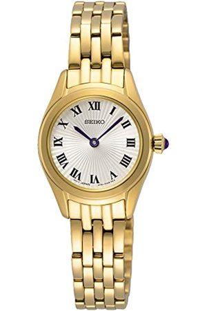 Seiko Damen Analog Japanischer Quarz Uhr mit Edelstahl Armband SWR040P1