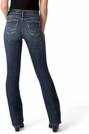 Silver Damen Slim - Co. Women's Suki Mid Rise Slim Bootcut Jeans