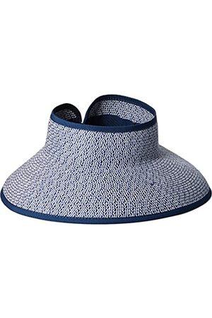 San Diego Hat Damen Hüte - Company Damen Ultrabraid Visier mit Bandeinfassung und Schweißband - Weiß - Einheitsgröße