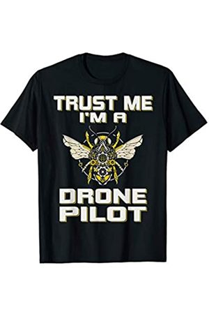 Drohne Drohnen Modellbauer Quadrocopter Piloten Herren Fliegen - Drohne Drone Quadrocopter Modellbau Pilot Fliegen T-Shirt