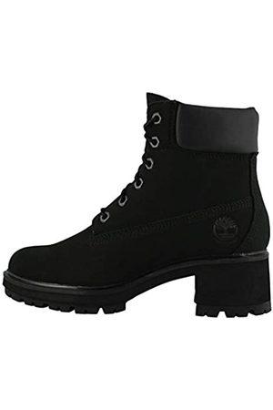 "Timberland Women's Kinsley 6"" Nubuck Waterproof Boots (Black Nubuck"