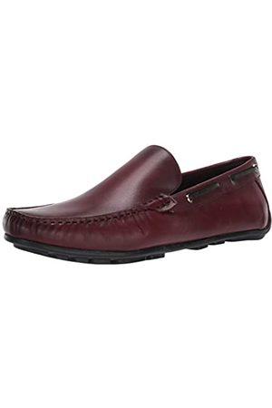 Driver Club USA Herren Made in Brazil Luxus Leder venezianischer Loafer Driving Style, Violett (Weinnappa)