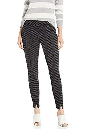 NYDJ Women's Misses Skinny Pull-ON Pants in Ponte Knit, Charcoal Diamond