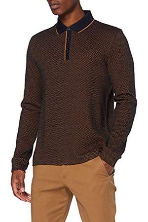 Pierre Cardin Herren Longsleeve Interlock Bicolor Jacquard Sweatshirt