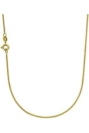 Zeeme Basic Damen Collier 925/- Sterling Silber 45cm vergoldet 025250017-45-V1