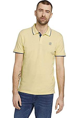TOM TAILOR Herren Poloshirts - Herren 1026007 Basic Polohemd, 22564-Pale Straw Yellow