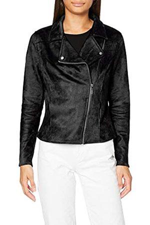 Garcia Damen Jacken - Women's Gs000890 Faux Leather Jacket, Black