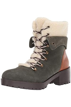 Skechers Damen Stiefel - Damen TRAIL TROOP - Sherpa Tongue and Collar Mid Hiker Boot modischer Stiefel