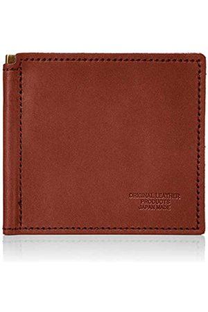 Naniwa Leather Unisex-Erwachsene L-20492 Geldbörse mit Geldklammer