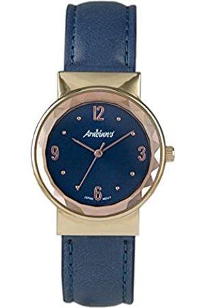 Arabians Damen Uhren - DamenAnalogQuarzUhrmitLederArmbandDBA2213A