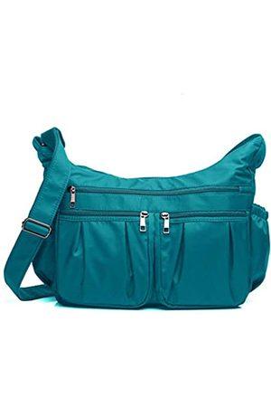 VOLGANIK ROCK Damen Umhängetaschen - Crossbody Geldbörsen für Frauen RFID Schulterhandtaschen Wasserdicht Nylon Reisetasche Pocketbooks