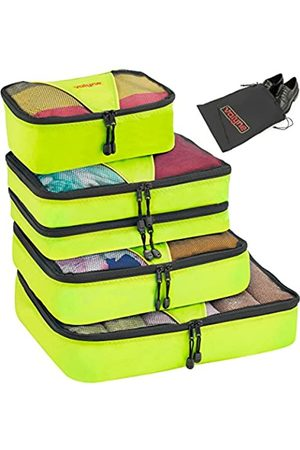 Valyne Packing Cubes 4-teiliges Set Gepäck-Organizer-Taschen mit gratis Schuhbeutel - 640843210374