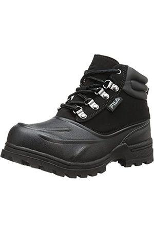 Fila Weathertec Hiking Shoe (Little Kid/Big Kid), Black/Black/Black