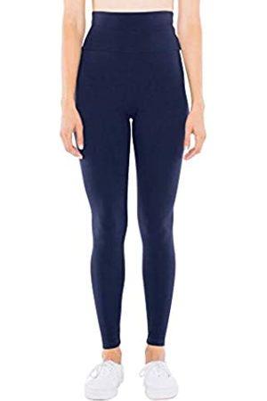 American Apparel Damen Leggings & Treggings - Damen Cotton Spandex Jersey High-Waist Leggings