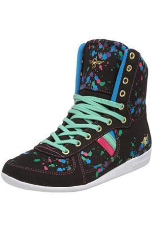 Creative Recreation Damen Galow Hi Fashion Sneaker, Schwarz (Schwarzer Spritzer)