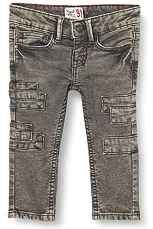 Noppies Jungen B Slim fit 5-Pocket Pants Katlehong Jeans, Dark Grey Wash-P050