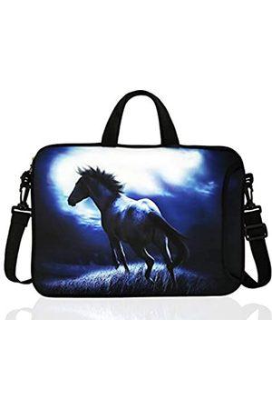 TAIAN Damen Handtaschen - Laptop-Umhängetasche aus Neopren, 35,6 cm (13,3 - 14 Zoll) Chromebook