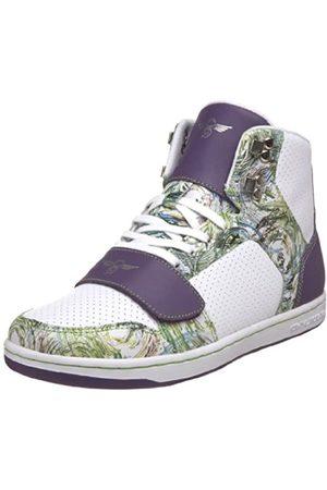 Creative Recreation Damen Sneakers - Cesario Damen-Sneaker mit hohem Schaft, Weiß (Lackiertes Leder)