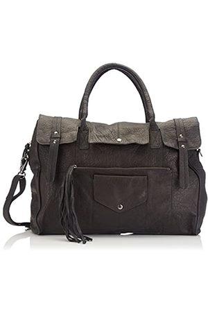 Pieces Damen Taschen - Pcrancy Leather Travel Bag 17067196 Damen Henkeltaschen 45x34x18 cm (B x H x T)