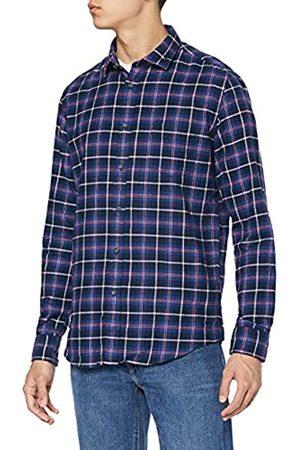 MERAKI Herren Longsleeves - Amazon-Marke: Herren Langärmeliges Baumwollhemd, XXL