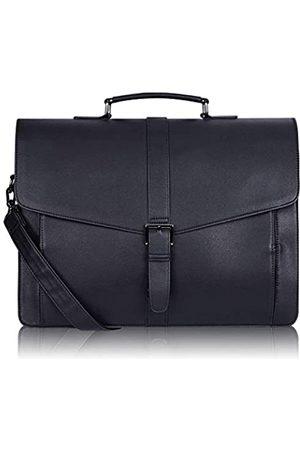 ESTARER Herren-Aktentasche aus Leder für Reisen Büro Business 39,6 cm (15