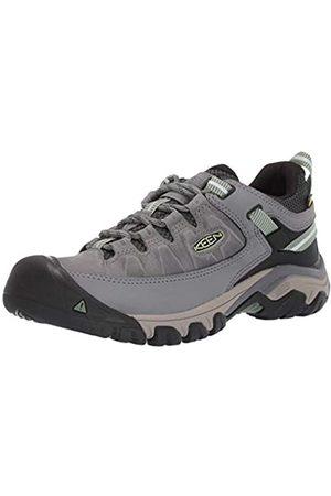 Keen Damen Outdoorschuhe - Damen Targhee 3 Low Height Waterproof Hiking Shoe Wanderschuh, Bleichmittel/Entengrün