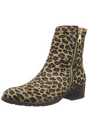 Diavolezza Damen Hannie Kurzschaft Stiefel, Mehrfarbig (Leopard)