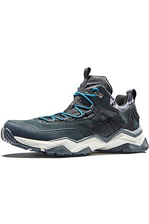 RAX Men's Lightweight Trekking Hiking Shoes(Black 8 US)