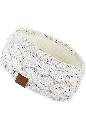 HATSANDSCARF C.C Stirnband mit Fleece-Futter, dick gestrickt