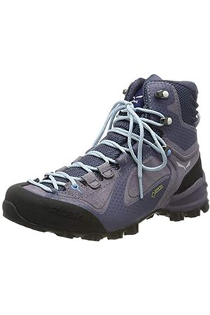 Salewa Damen Outdoorschuhe - Damen WS Alpenviolet Mid Gore-TEX Trekking- & Wanderstiefel, Grisaille/Ethernal Blue