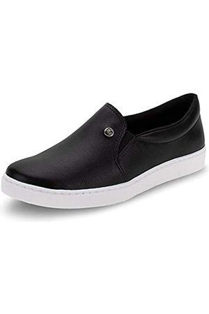 VIA MARTE Damen Sneakers - Damen Slip-on-Sneaker, gepolsterte Innensohle, bequem, bequem, niedlich