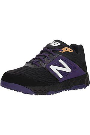 New Balance Men's 3000v4 Turf Baseball Shoe, Black/Purple